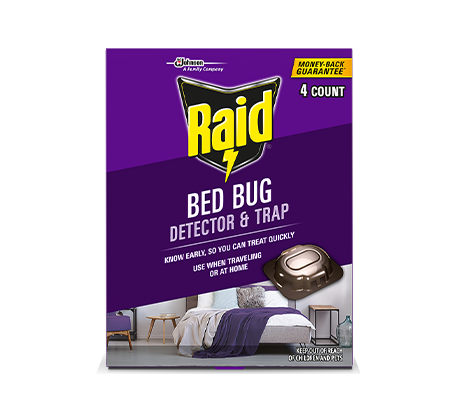 RAID BED BUG DETECTOR AND TRAP